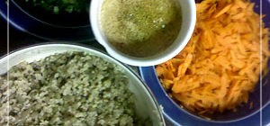 Lentil Bulger Salad
