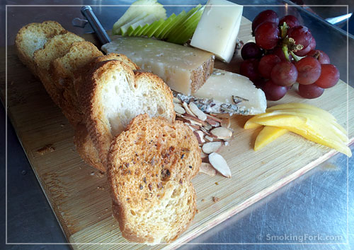 Cheese Plate, Emiliano's Cafe