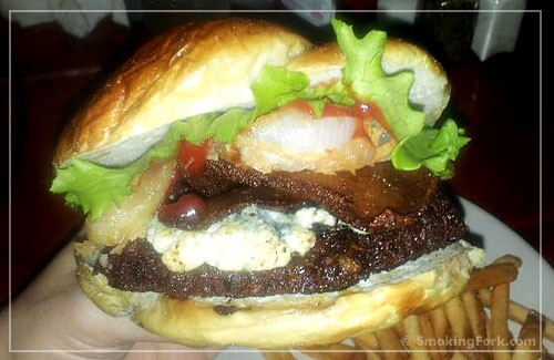 True Blue Falafel Burger