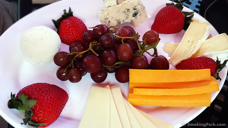Formaggio's cheese plate for two