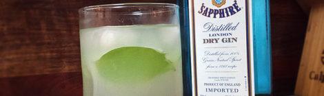 Gin + Basil + Lemonade